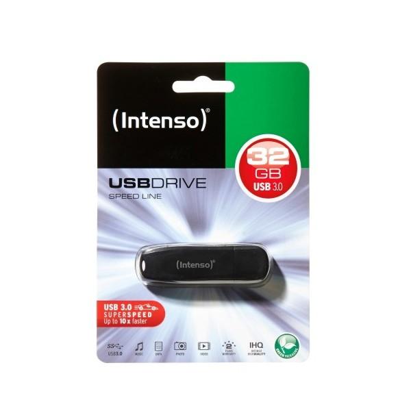 USB Pendrive INTENSO 3533480 USB 3.0 32 GB Schwarz