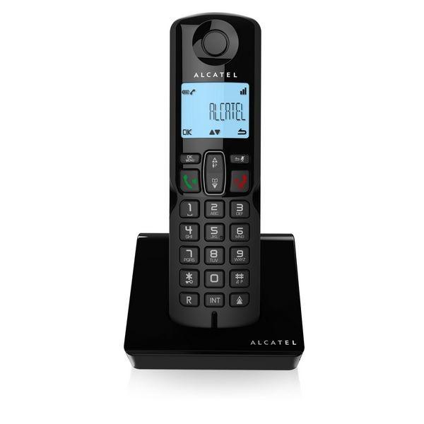 Kabelloses Telefon Alcatel S250 DECT Schwarz