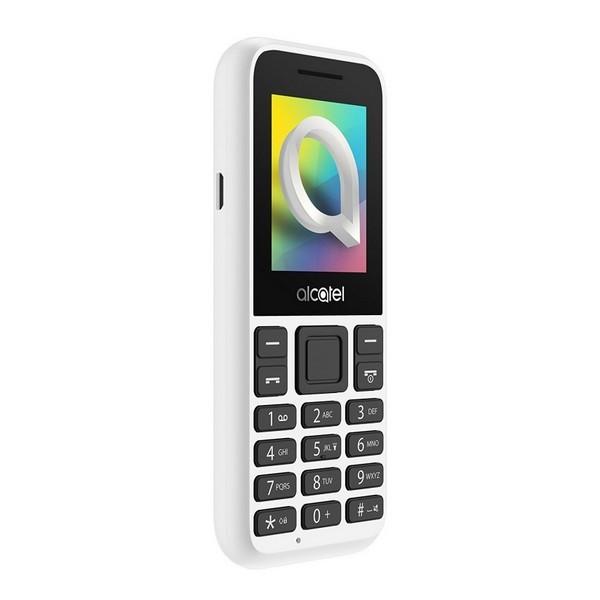 "Mobiltelefon ALCATEL 1066D-2BALES1 1,8"" QQVGA Bluetooth Weiß"