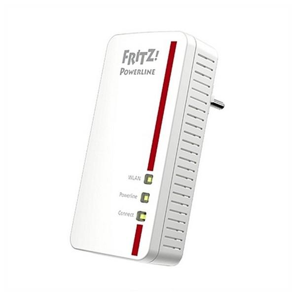 PLC-WLAN-Adapter Fritz! 1260E 1200 Mbps Weiß