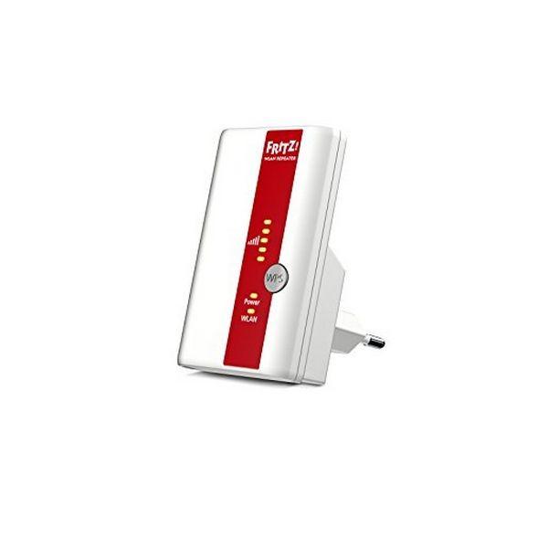 Schnittstellen-Repeater Fritz! N300 300 Mbps WIFI WPS Weiß