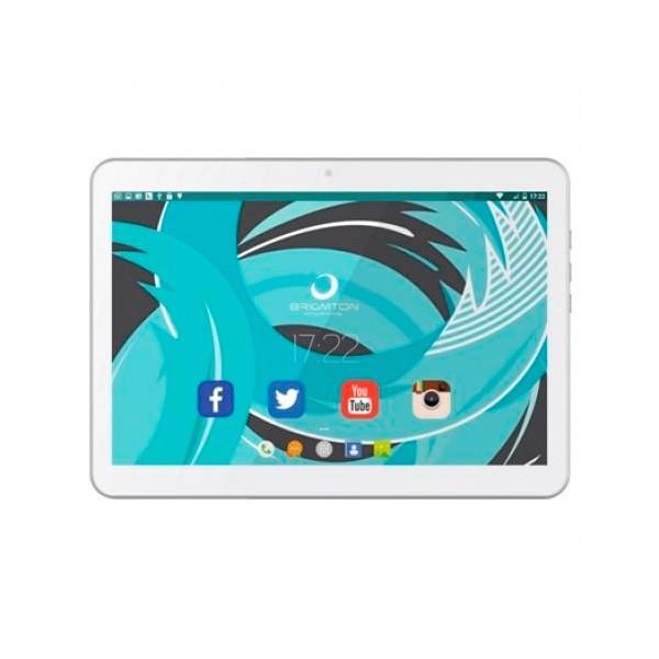 "Tablet BRIGMTON BTPC-1021QC 10"" 16 GB 3G / Wifi Quad Core Weiß"