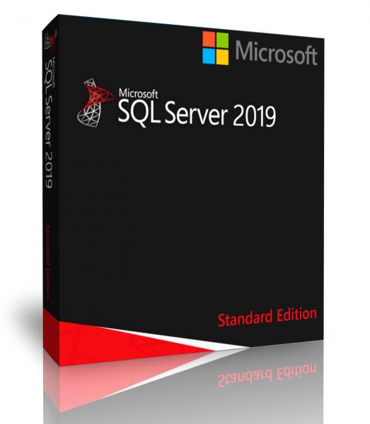 Windows SQL Server 2019 Standard Edition 4 Cores