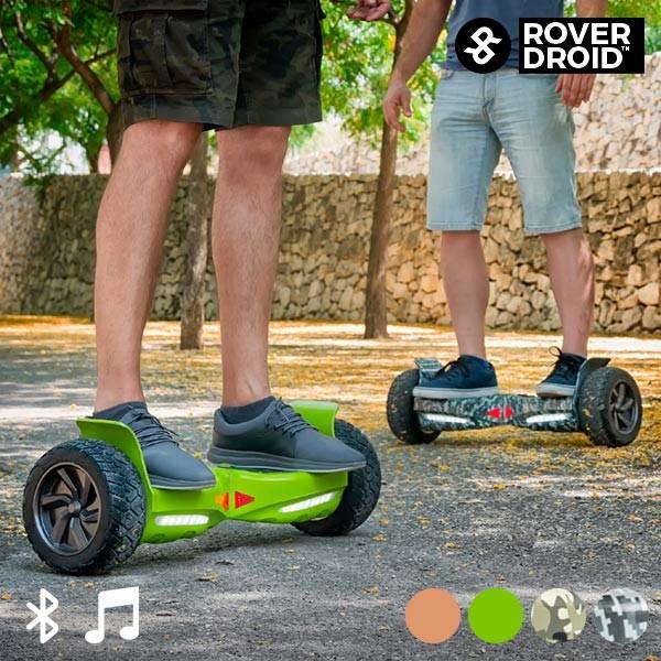 Rover Droid Stor 190 Elektrischer Bluetooth Hoverboard Scooter mit Lautsprecher