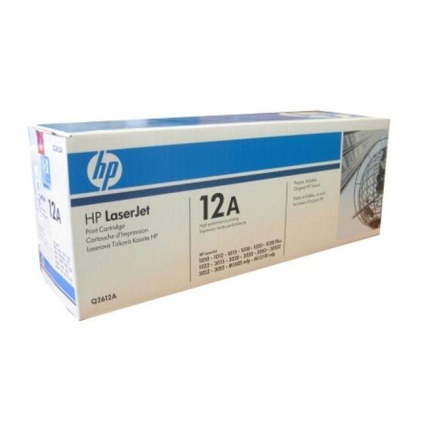 Original Toner Hewlett Packard Q2612A Schwarz