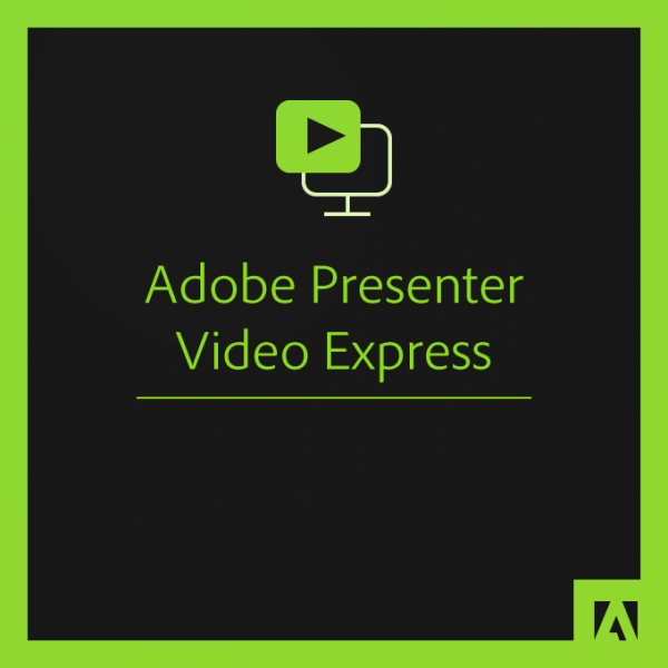 Adobe Presenter Video Express 12 DE (MAC) Student & Teacher Edition