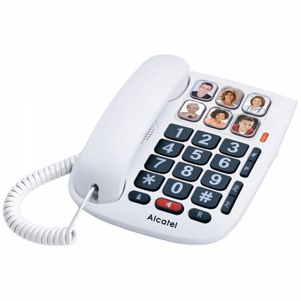 Festnetz für ältere Menschen Alcatel TMAX 10 LED Weiß