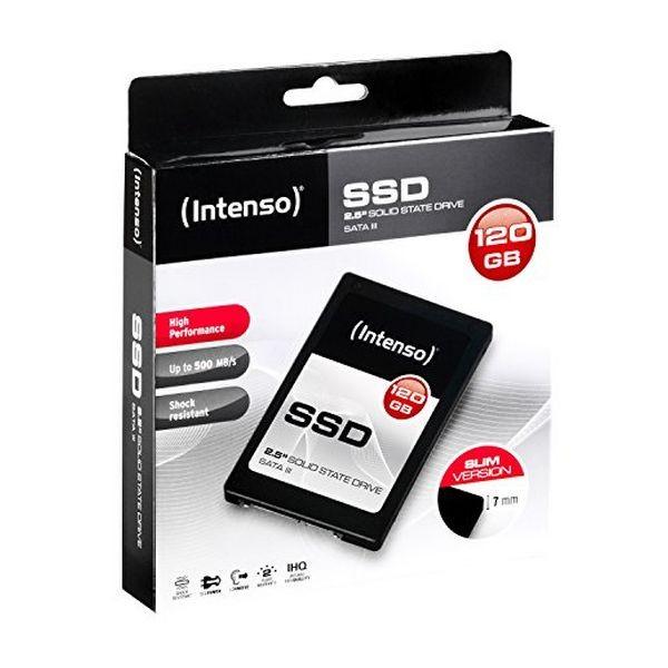 "Festplatte INTENSO 3813430 2.5"" SSD 120 GB 7 mm Sata III"