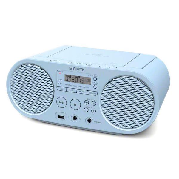 Radio mit CD-Laufwerk Sony ZS-PS50 Blau