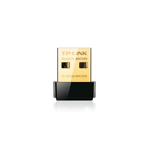 Wi-Fi Adapter TP-LINK Nano TL-WN725N 150N WPS USB Schwarz