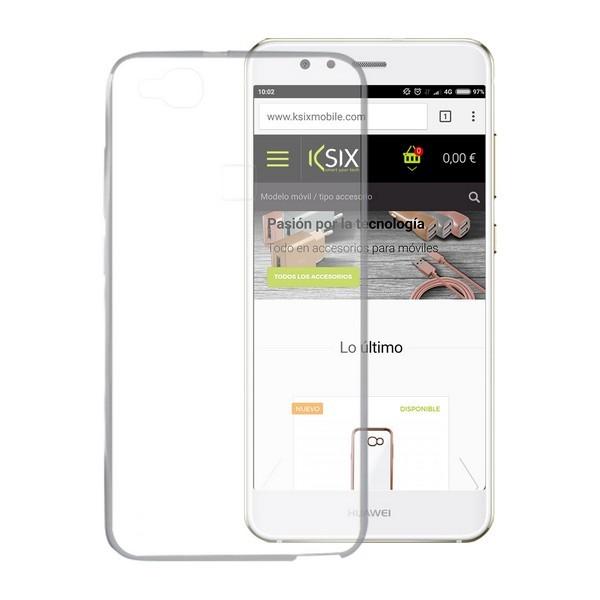Handyhülle Huawei P10 Lite Flex Ultrafina Durchsichtig
