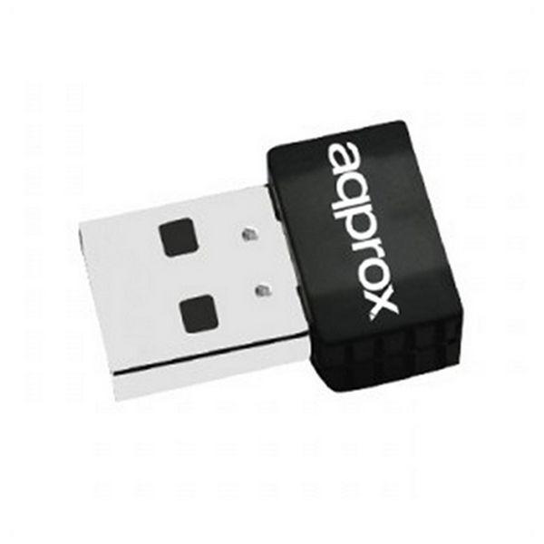 USB-WLAN-Adapter approx! APPUSB600NAV2 Schwarz