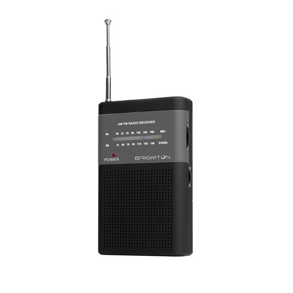 Tragbares Radio BRIGMTON BT-350-N Schwarz