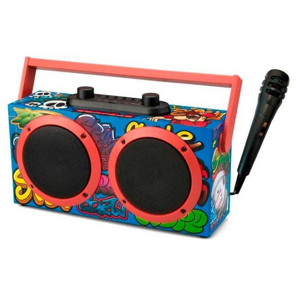 Tragbare Bluetooth-Lautsprecher Daewoo DSK-340 FM 15W Schwarz