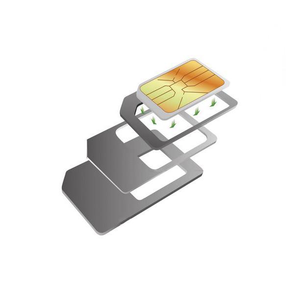 Adapterset für SIM-Karten KSIX (3 pcs)
