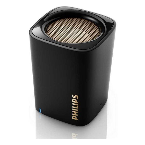 Drahtlose Bluetooth Lautsprecher Philips BT110B 4W Schwarz