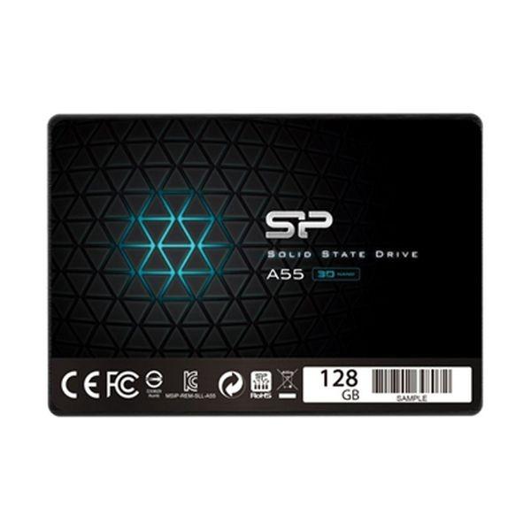 """Festplatte Silicon Power IAIDSO0184 128 GB SSD 2.5"""" SATA III"""