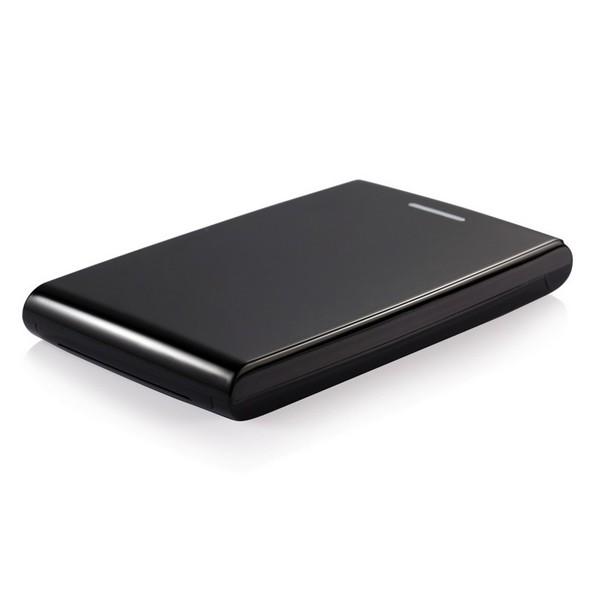"""Externe Box TooQ TQE-2526B HD 2.5"""" SATA III USB 3.0 Schwarz"""