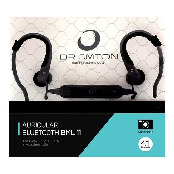 Bluetooth Kopfhörer Sport BRIGMTON BML-11 Schwarz