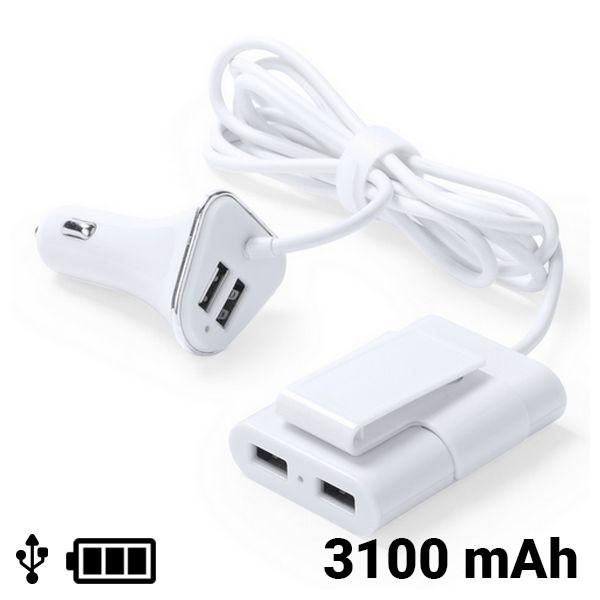 USB Autoladegerät 4 Ports 3100 mAh 145209