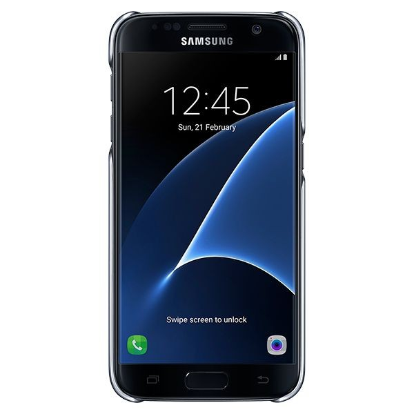 "Handyhülle Samsung S7 Clear Cover EF-QG930 5.1"" Durchsichtig"