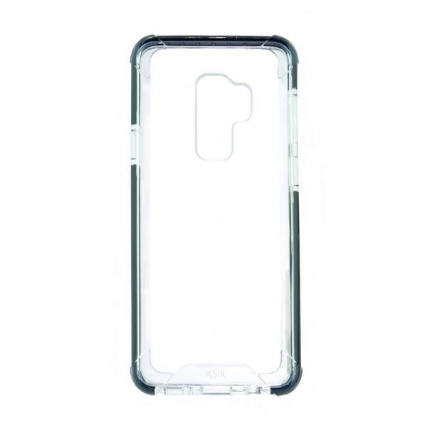 Handyhülle Samsung Galaxy S9+ Flex Armor TPU Polycarbonat Schwarz Durchsichtig