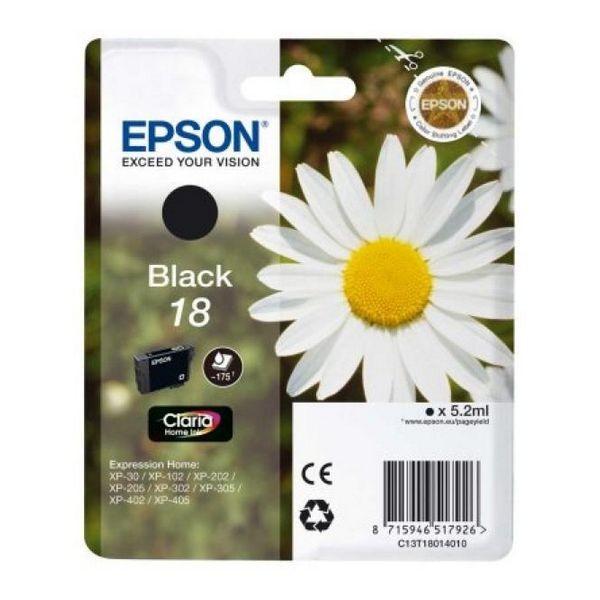 Original Tintenpatrone Epson C13T18014010 Schwarz
