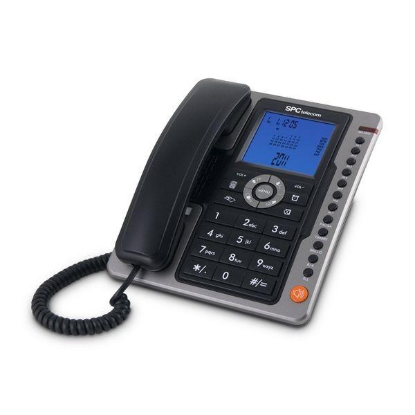 Festnetztelefon SPC 3604N LED Schwarz