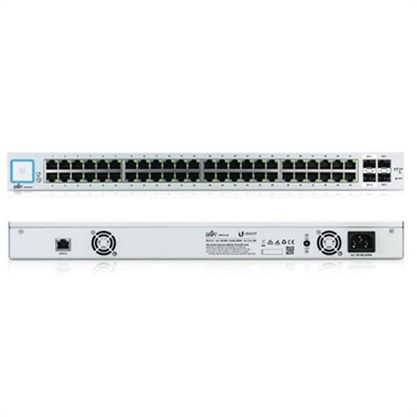 Schalter für das Netz mit Schaltschrank UBIQUITI US-48 48xGB 2xSFP 2xSFP+