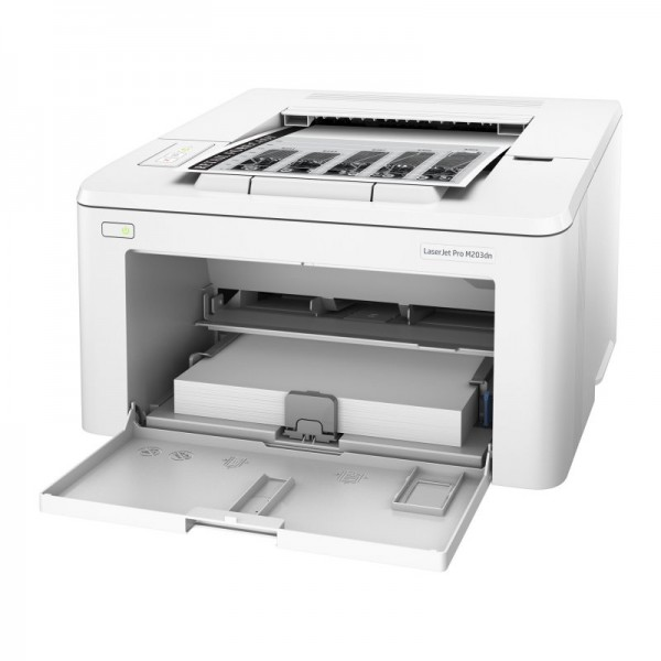 Schwarzweiß-Laserdrucker HP LaserJet Pro M203dw WIFI 256 MB Weiß