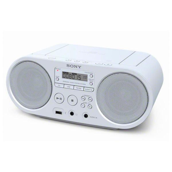 Radio mit CD-Laufwerk Sony ZS-PS50 Weiß