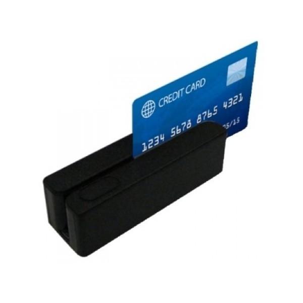 Posiberica Magnetkartenleser 3 Spuren USB