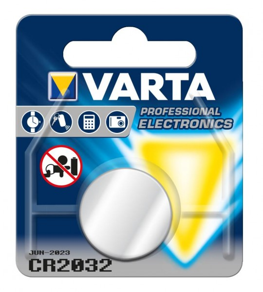 Lithium-Knopfzelle Varta CR-2032 3 V