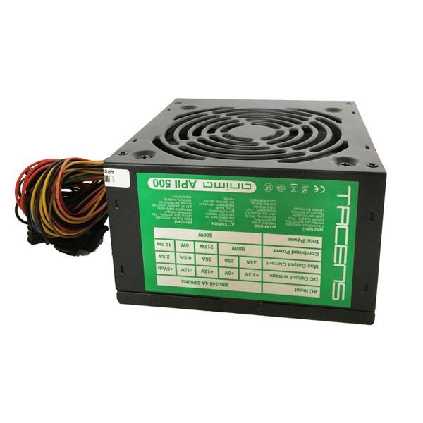 Stromquelle Tacens APII500 ATX 500W Schwarz