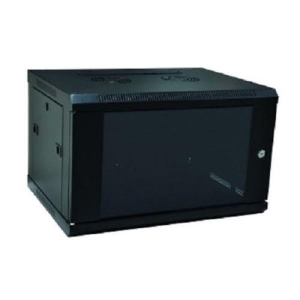 Wandschaltschrank WP WPN-RWB-06605- 6 U 600 x 500 x 370 mm Schwarz