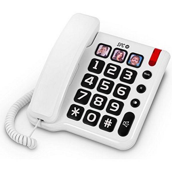 Festnetz für ältere Menschen SPC 3294 Weiß