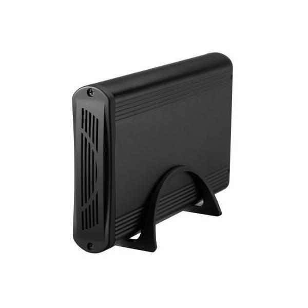 """Externe Box TooQ TQE-3526B HD 3.5"""" SATA III USB 3.0 Schwarz"""