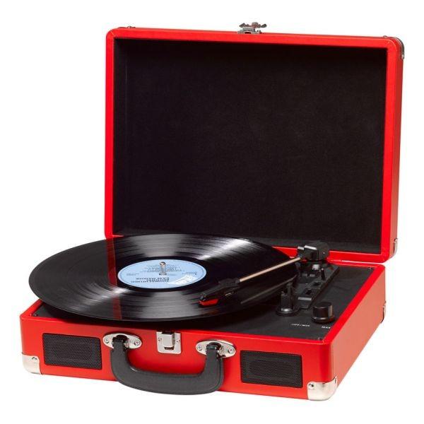 Plattenspieler Denver Electronics VPL-120 Rot