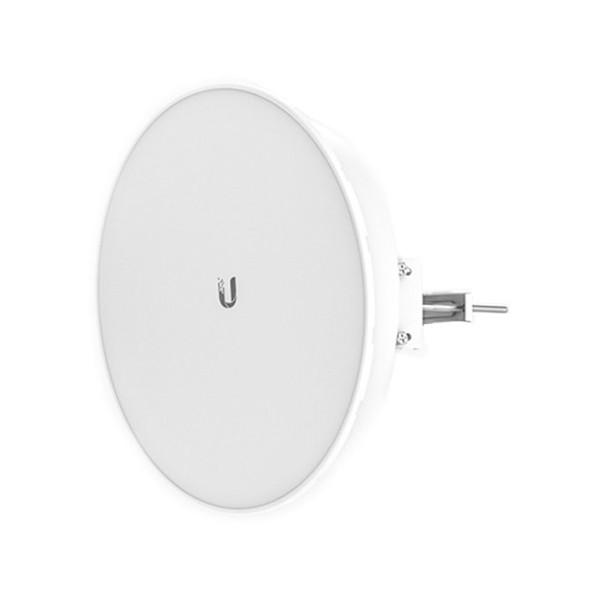 PowerBeam UBIQUITI NSWPAC0211 PBE-5AC-400-ISO 5Ghz 25dBi 64 MB RAM 16 MB Flash Weiß