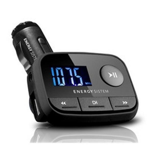 Auto-MP3-Player Energy Sistem 384600 FM LCD SD / SD-HC (32 GB) USB Schwarz