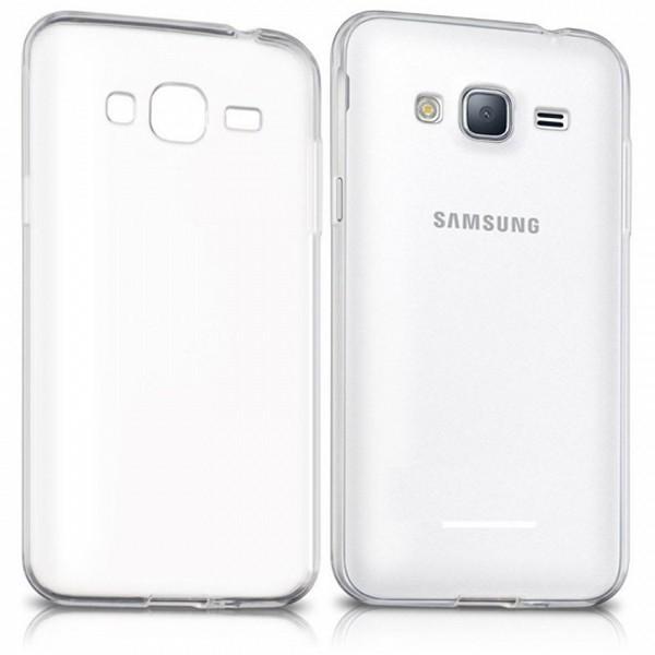 Handyhülle Samsung 222672 Samsung J3 Gel Newark Durchsichtig
