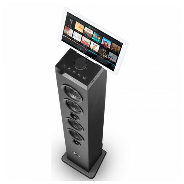 Lautsprecherturm SPC 4554N Bluetooth USB FM 100W Schwarz