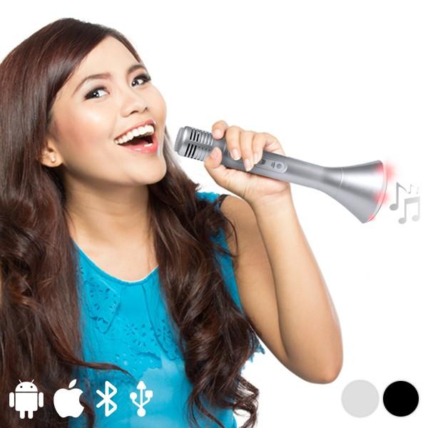 Tragbarer Bluetooth Lautsprecher mit Mikrofon 3W 145323