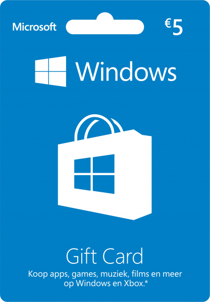 Windows Gift Card 5 EUR (Agency)