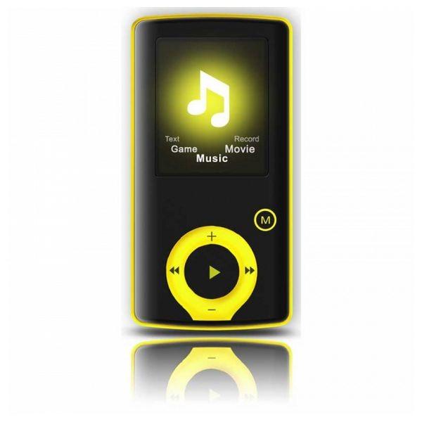 """MP3 Player BRIGMTON BPA-81-Y 1.8"""" 8 GB Gelb"""