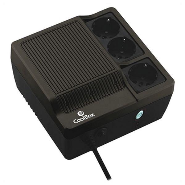 Offline UPS CoolBox SAICOOSC600B 300W Schwarz