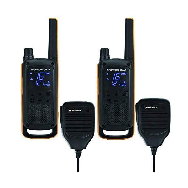 Walkie-Talkie Motorola T82 Extreme RSM (2 Pcs) Schwarz Gelb