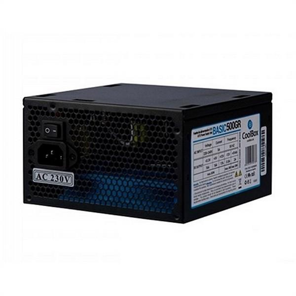 Stromquelle CoolBox CoolBox Basic ATX 300W Schwarz
