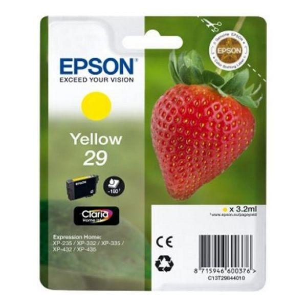 Original Tintenpatrone Epson C13T298440 Gelb