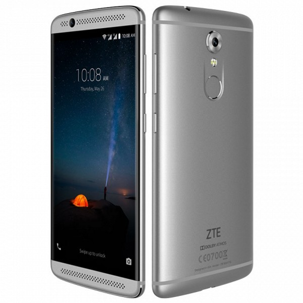 "Smartphone ZTE AXON 7 MINI 5,2"" AMOLED Full HD Octa Core 32 GB 3 GB RAM Grau"